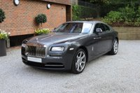 USED 2014 ROLLS-ROYCE WRAITH 6.6 V12 2d AUTO 624 BHP VAT QUALIFYING + FRRSH + 1 OWNER