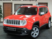 2015 JEEP RENEGADE 2.0 M-JET LIMITED 5d 138 BHP £13950.00
