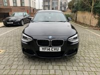 USED 2014 14 BMW 1 SERIES 2.0 120D XDRIVE M SPORT 5d 181 BHP Low Miles, xDrive, Xenons, Red Leathers, MOT, Finance