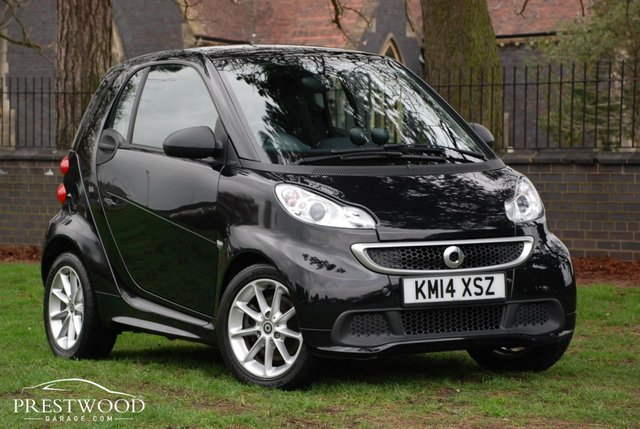 2014 14 SMART FORTWO 1.0 PASSION MHD SOFTOUCH AUTO (71 BHP) SAT NAV