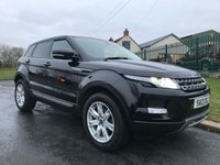2013 LAND ROVER RANGE ROVER EVOQUE 2.2 SD4 PURE TECH 5d 190 BHP £12995.00