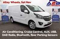 USED 2015 65 VAUXHALL VIVARO 1.6 2700 CDTI SPORTIVE 115 BHP, Sat Nav, Air Conditioning, Bluetooth, Cruise Control, Rear Parking Sensors, Alloy Wheels *Over The Phone Low Rate Finance Available*   *UK Delivery Can Also Be Arranged*