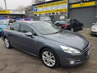 2013 PEUGEOT 508 2.0 HYBRID4 4d AUTO 200 BHP IN METALLIC GREY WITH ONLY 46000 MILES IN IMMACULATE CONDITION. £8999.00