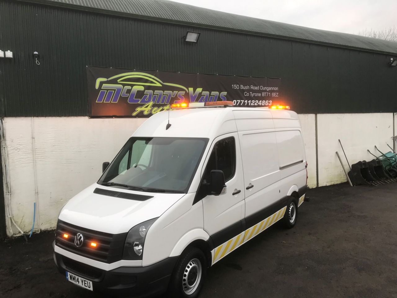 9fc607844e USED 2014 14 VOLKSWAGEN CRAFTER 2.0 CR35 TDI H R P V 1d 135 BHP ...