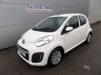 2013 CITROEN C1 1.0 VTR 5 DOOR WHITE 15000 MILES, AIR CON, REMOTE LOCKING CHEAP TAX £5695.00