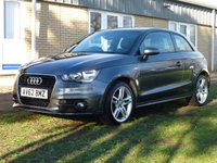 USED 2012 AUDI A1 1.4 TFSI S LINE 3d 122 BHP www.suffolkcarcentre.co.uk - Located at Reydon