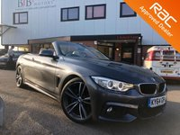 USED 2014 64 BMW 4 SERIES BMW 4 SERIES 420D M SPORT PLUS  HEATED STEERING WHEEL | PRO WIDESCREEN SATNAV | HEATED COLLAR AND SEATS | BLUETOOTH | DAB | M SPORT PLUS