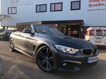 2014 BMW 4 SERIES BMW 4 SERIES 420D M SPORT PLUS  £16500.00