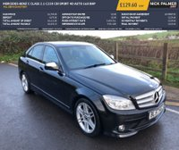 USED 2008 57 MERCEDES-BENZ C CLASS 2.1 C220 CDI SPORT 4d AUTO 168 BHP FUL SERVICE HISTORY