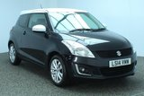 USED 2014 14 SUZUKI SWIFT 1.2 SZ-L 3DR 94 BHP £30 ROAD TAX SERVICE HISTORY + BLUETOOTH + CRUISE CONTROL + MULTI FUNCTION WHEEL + AIR CONDITIONING + RADIO/CD/USB + 16 INCH ALLOY WHEELS