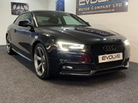 2012 AUDI A5 2.0 TDI QUATTRO S LINE BLACK EDITION 2d 175 BHP £15499.00