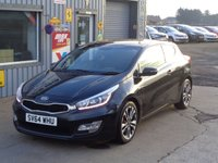 USED 2014 64 KIA CEED 1.6 PRO CEED CRDI SE ECODYNAMICS 3d 126 BHP HUGE SPEC SAT NAV  REVERSING CAMERA 1 OWNER FROM NEW