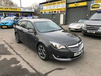 USED 2014 64 VAUXHALL INSIGNIA 2.0 SRI NAV VX-LINE CDTI ECOFLEX S/S 5 DOOR ESTATE 160 BHP IN METALLIC GREY  WITH 95000 MILES. APPROVED CARS ARE PLEASED TO OFFER THIS VAUXHALL INSIGNIA 2.0 SRI NAV VX-LINE CDTI ECOFLEX S/S 5 DOOR ESTATE 160 BHP IN GREAT CONDITION WITH A GOOD SPEC INCLUDING SAT NAV,DAB RADIO,BLUETOOTH,UPGRADED ALLOYS AND MUCH MORE WITH A FULL SERVICE HISTORY A STUNNING LOOKING AND DRIVING ESTATE CAR.