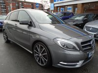 2012 MERCEDES-BENZ B CLASS 1.8 B180 CDI BLUEEFFICIENCY SPORT 5d 109 BHP £8994.00
