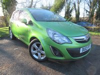 USED 2012 12 VAUXHALL CORSA 1.2 SXI AC 5d  **5 DOOR HATCHBACK***