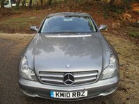 USED 2010 10 MERCEDES-BENZ CLS CLASS 3.0 CLS350 CDI GRAND EDITION 4d AUTO 224 BHP GREAT SPEC - 6 Months Warranty