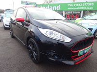 USED 2015 65 FORD FIESTA 1.0 ZETEC S BLACK EDITION 3d 139 BHP LIMITED BLACK EDITION....140 BHP....£20 A YEAR ROAD TAX