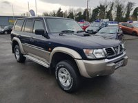2002 NISSAN PATROL 3.0 SE PLUS TD 5d 156 BHP IN METALLIC BLUE WITH 98000 MILES (TRADE CLEARANCE) £5250.00