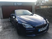 2015 BMW 6 SERIES GRAN COUPE 3.0 640I M SPORT 4d AUTO 316 BHP £SOLD