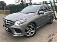 2015 MERCEDES-BENZ GLE-CLASS 3.0 GLE 350 D 4MATIC AMG LINE 5d AUTO 255 BHP SAT NAV LEATHER ONE OWNER FSH £32990.00