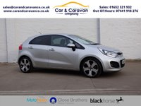 USED 2012 61 KIA RIO 1.4 3 5d 107 BHP Service History A/C Bluetooth Buy Now, Pay Later Finance!
