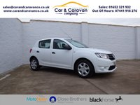 USED 2015 15 DACIA SANDERO 1.1 AMBIANCE 5d 75 BHP Full Service History Bluetooth Buy Now, Pay Later Finance!