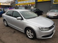 USED 2012 12 VOLKSWAGEN JETTA 2.0 SE TDI DSG 4d AUTO 139 BHP IN SILVER WITH ONLY 60000 MILES IN IMMACULATE CONDITION. APPROVED CARS ARE PLEASED TO OFFER THIS VOLKSWAGEN JETTA 2.0 SE TDI DSG 4 DOOR AUTOMATIC 139 BHP IN SILVER WITH ONLY 60000 MILES IN IMMACULATE CONDITION INSIDE AND OUT WITH A FULL SERVICE HISTORY SERVICED AT 16K,20K,23K,27K,33K,43K AND 53K WITH A CAM BELT CHANGE A GREAT LOOKING DRIVING AUTOMATIC CAR .