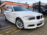 2011 BMW 1 SERIES 2.0 120D M SPORT 2d AUTO 175 BHP £8288.00
