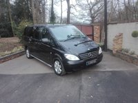 USED 2010 10 MERCEDES-BENZ VITO 2.1 115 CDI COMPACT SWB DUALINER Air Conditioning, One Owner, 6 Seats