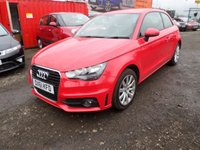 2011 AUDI A1 1.6 TDI SPORT 3d 103 BHP £4495.00