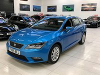 2015 SEAT LEON 1.6 TDI SE TECHNOLOGY 5d 110 BHP NAV 5DR ESTATE  £9795.00