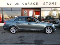 USED 2011 11 MERCEDES-BENZ C CLASS 2.1 C200 CDI BLUEEFFICIENCY ELEGANCE 4d AUTO 134 BHP **F/S/H * LEATHER** ** BLACK LEATHER * F/S/H **
