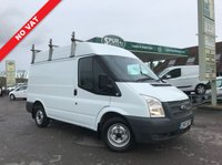 USED 2012 62 FORD TRANSIT 2.2 280 1d 99 BHP NO VAT, Medium Roof, Roof Rack, Heated Windscreen.