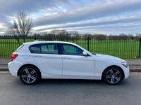2013 BMW 1 SERIES 1.6 116I SPORT 5d 135 BHP £8495.00