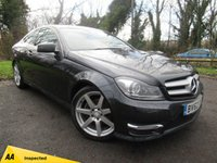 USED 2012 62 MERCEDES-BENZ C CLASS 1.6 C180 BLUEEFFICIENCY AMG SPORT 2d AUTO  **AUTOMATIC COUPE**