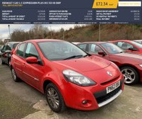 USED 2012 62 RENAULT CLIO 1.5 EXPRESSION PLUS DCI 5d 88 BHP FULL SERVICE HISTORY