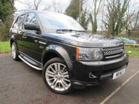 USED 2009 59 LAND ROVER RANGE ROVER SPORT 3.0 TDV6 HSE 5d AUTO  **LUXURY 4X4**DIESEL AUTOMATIC**