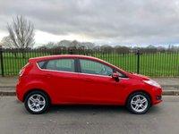 2013 FORD FIESTA 1.2 ZETEC 5d 81 BHP £5295.00