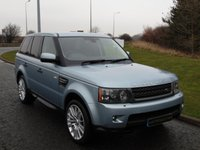 USED 2011 11 LAND ROVER RANGE ROVER SPORT 3.0 TDV6 HSE 5d AUTO 245 BHP SAT NAV, TV, DAB, FULL LEATHER