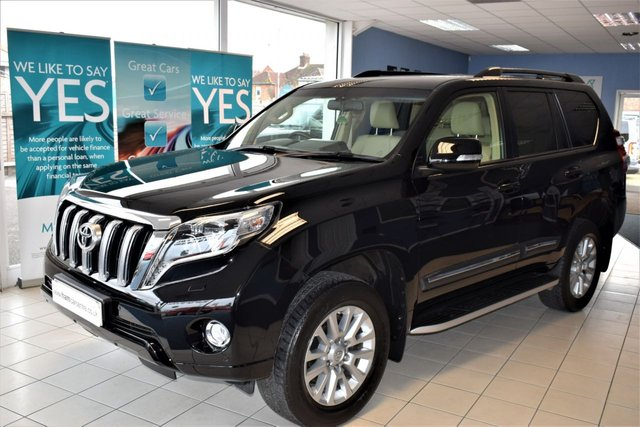 2015 65 TOYOTA LAND CRUISER 3.0 D-4D ICON 5d AUTO 188 BHP 4x4 7 SEATER