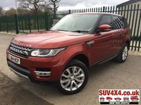 2014 LAND ROVER RANGE ROVER SPORT 3.0 SDV6 HSE 5d AUTO 288 BHP PAN ROOF SAT NAV PRIVACY FSH £36990.00
