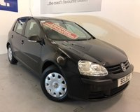 2008 VOLKSWAGEN GOLF S £2999.00