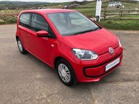 USED 2014 14 VOLKSWAGEN UP 1.0 MOVE UP 5d 59 BHP AC **LOW INSURANCE**