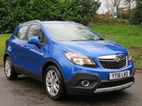 USED 2016 16 VAUXHALL MOKKA 1.6 EXCLUSIV S/S 5d 114 BHP 1 OWNER, VAUXHALL SERVICE HISTORY!