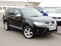 USED 2008 57 MITSUBISHI OUTLANDER 2.0 INTENSE WARRIOR H-LINE DI-D 5d 139 BHP 7 SEATER 4x4