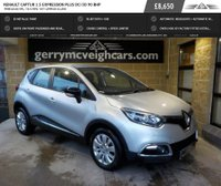 USED 2016 65 RENAULT CAPTUR 1.5 EXPRESSION PLUS DCI 5d 90 BHP FREE £0.00 RFL; 78.5 mpg  VRT approx €1,690