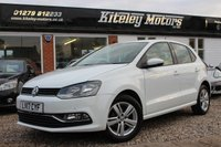 USED 2017 17 VOLKSWAGEN POLO 1.0 MATCH EDITION 5 DOOR 60 BHP