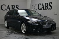 USED 2017 17 BMW 5 SERIES 2.0 520D M SPORT TOURING 5d AUTO 188 BHP A Fantastic 1 Owner Example of One of the Most Versatile All-Round Family Cars Money Can Buy with M Sport Styling and Superb Handling. Presented in Excellent Condition Throughout with Black Full Leather Heated Seats, Satellite Navigation, Bluetooth Connectivity, DAB Radio, Aux / Ipod Connection, Remote Power Tailgate, 18 Inch Alloy Wheels, Front and Rear Park Distance Control, Digital Dual Zone Climate Control, Automatic Headlights with Power Wash, Leather Multi Function Steering Wheel...
