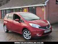USED 2014 14 NISSAN NOTE 1.2 ACENTA PREMIUM DIG-S AUTO (SAT NAV) 5dr AUTOMATIC / SAT NAV / BLUETOOTH