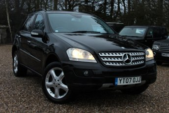 2007 MERCEDES-BENZ M CLASS 3.0 ML320 CDI SPORT 5d AUTO 222 BHP £SOLD